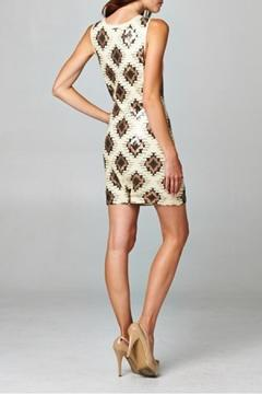 Esley Tribal Sequins Dress - Alternate List Image