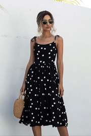 Esley Collection Angie's Polka Dot Dress - Product Mini Image