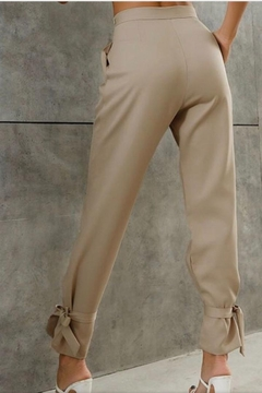 Esley Collection Ankle Tie Pants - Alternate List Image