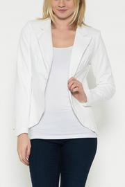 Esley Collection White Blazer - Product Mini Image