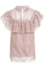 Esley Collection Blush Lace Detail Blouse - Other