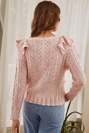 Esley Collection Blushing Over You Sweater - Other