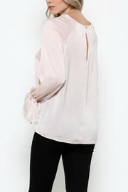 Esley Collection Bow Tie Bell Top - Other
