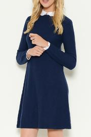 Esley Collection Collared Sweater Dress - Product Mini Image