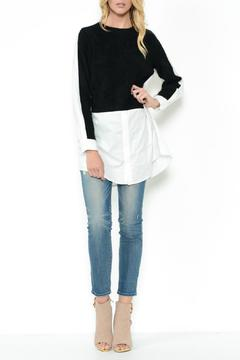 Shoptiques Product: Layered Knit Top