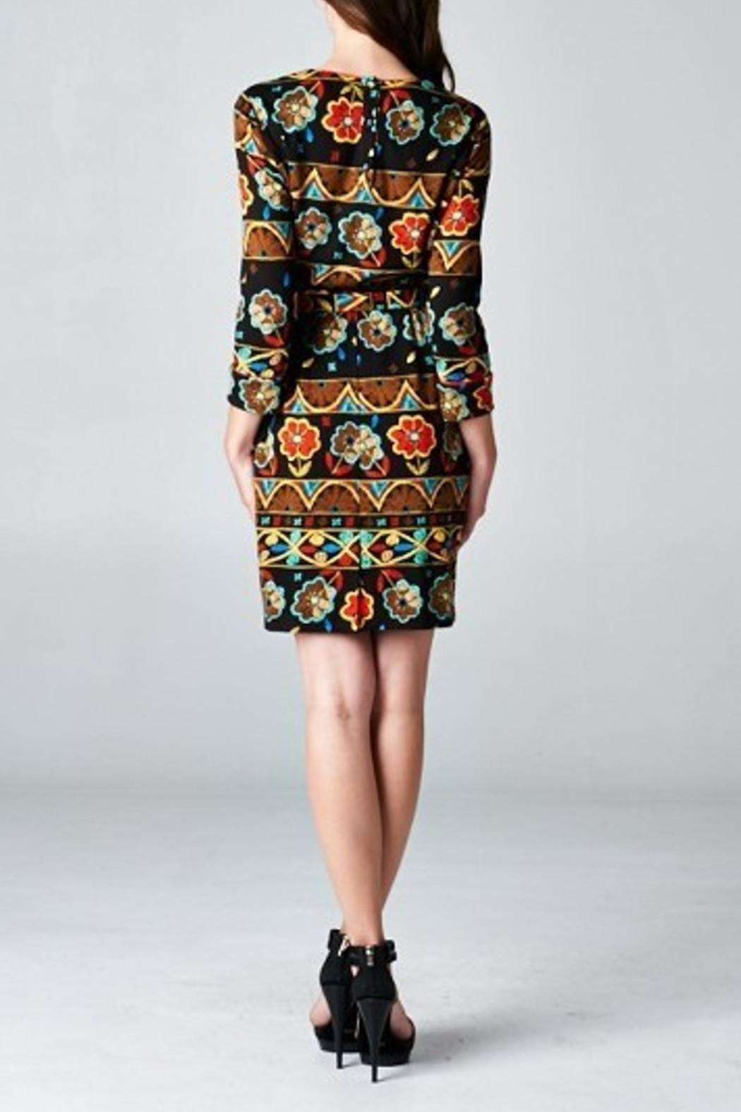 Esley Collection Floral Printed Pattern - Side Cropped Image