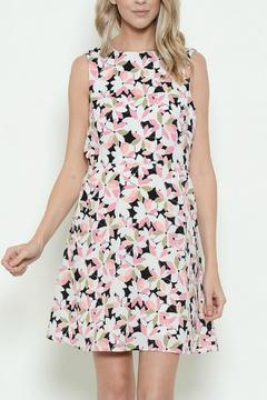 Esley Collection Floral Sleeveless Dress - Product List Image