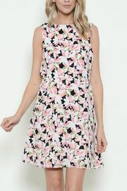 Esley Collection Floral Sleeveless Dress - Product Mini Image