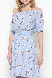 Esley Collection Floral Off Shoulder Dress - Product Mini Image