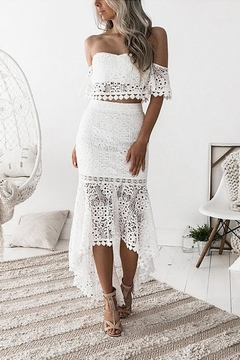 Esley Collection Lace Bodycon Set - Product List Image