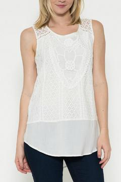 Esley Collection Lace Front Top - Product List Image