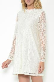 Esley Collection Lace Shift Dress - Product Mini Image