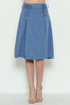 Shoptiques Product: Light Denim Skirt
