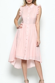 Esley Collection Pink Blush Dress - Product Mini Image