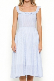 Esley Collection Pinstripe Dress - Product Mini Image