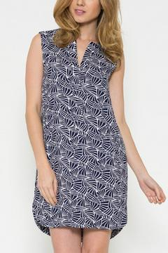 Esley Collection Print Shift Dress - Product List Image