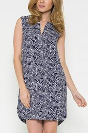 Esley Collection Print Shift Dress - Product Mini Image