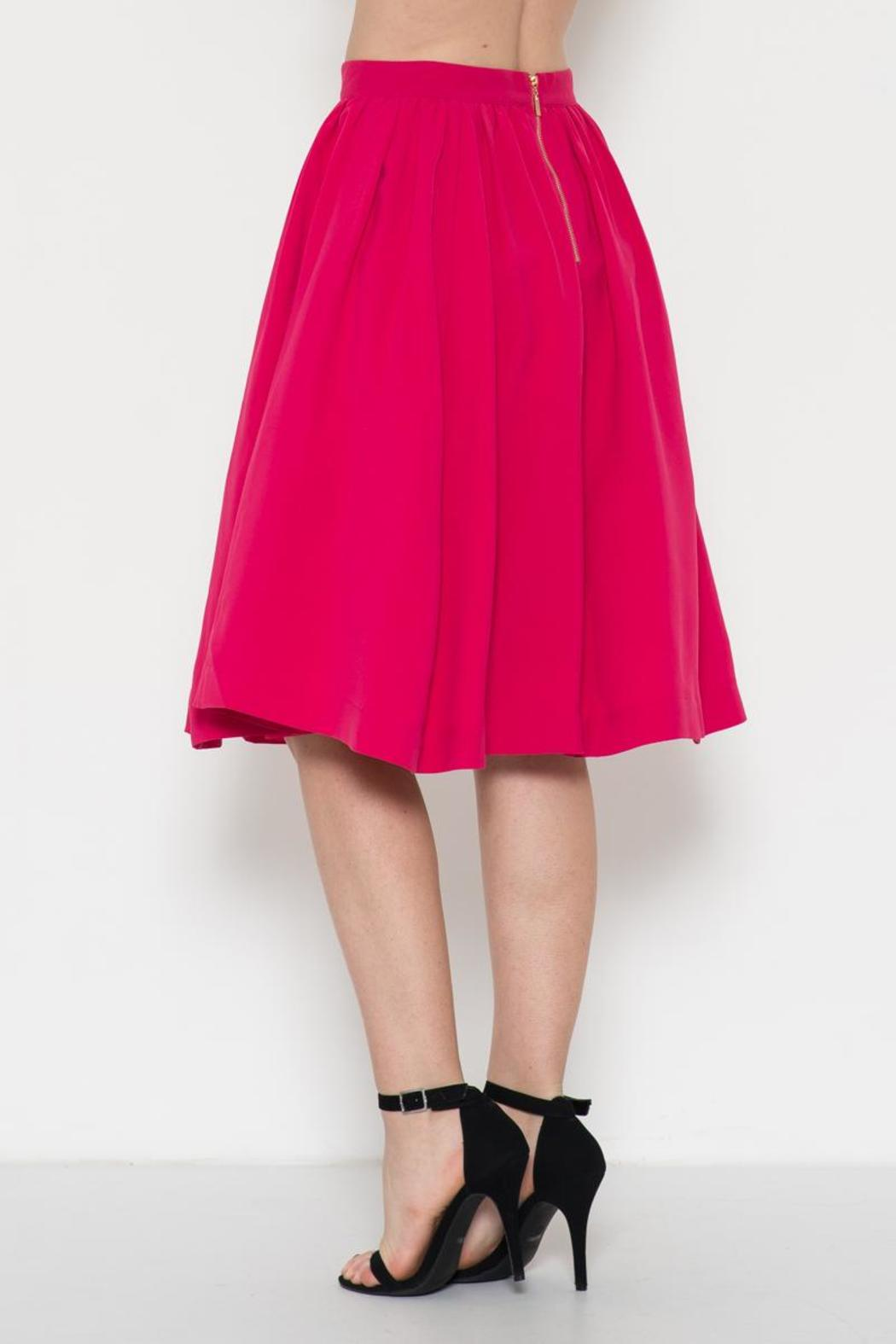 Esley Collection Retro Circle Skirt - Front Full Image