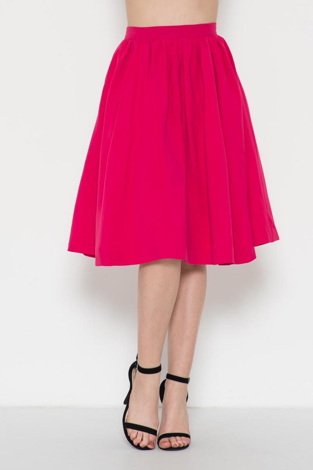 Esley Collection Retro Circle Skirt - Main Image