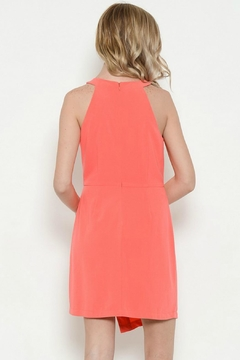 Esley Collection Round Neck Solid Dress - Alternate List Image