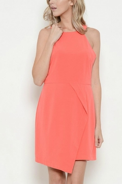 Esley Collection Round Neck Solid Dress - Product List Image