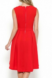 Esley Collection Scallop Neckline Dress - Other