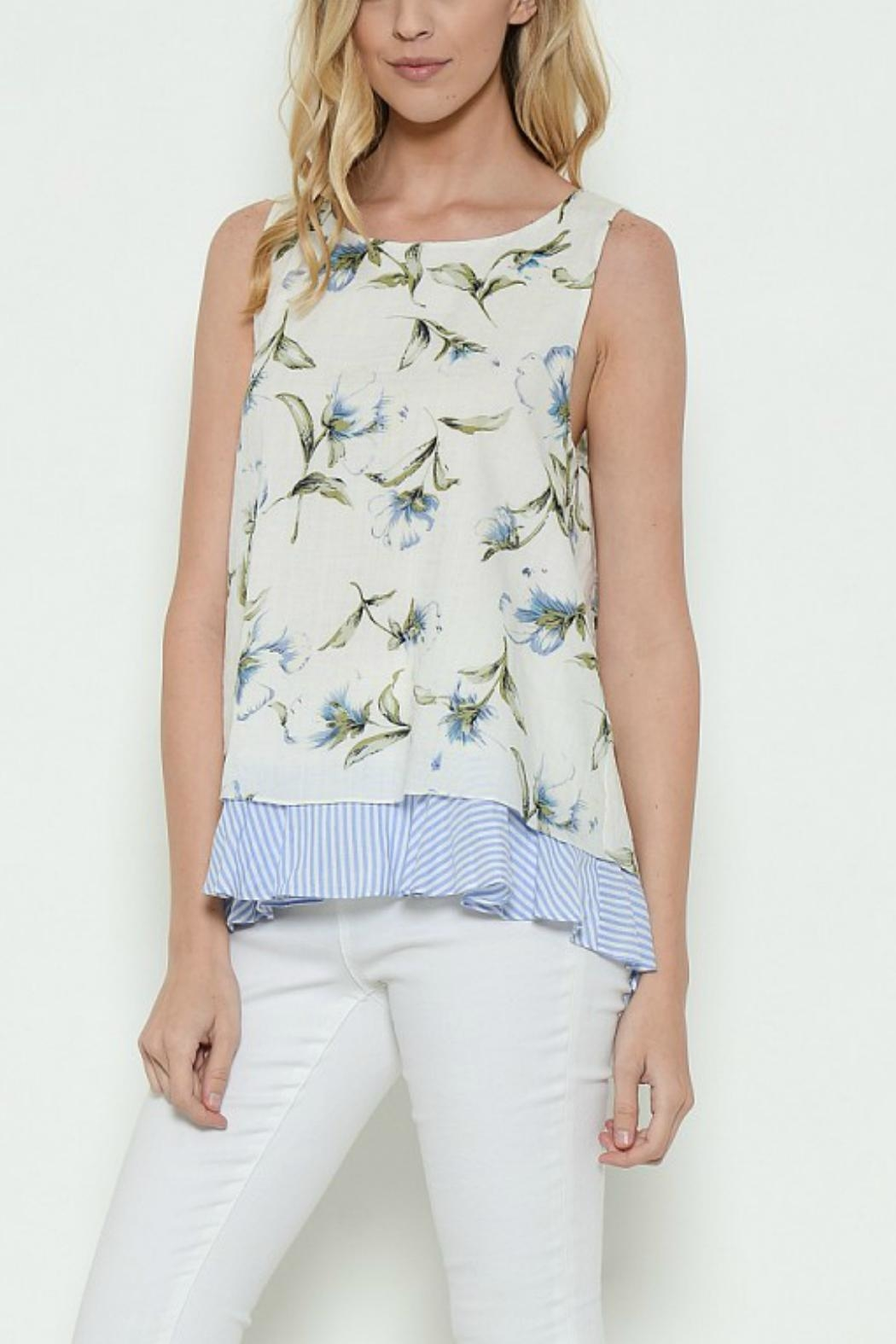 Esley Collection Sleeveless Tank Top - Main Image