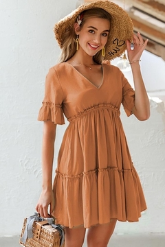 Esley Collection Spice & Eveything Nice Dress - Product List Image