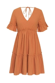 Esley Collection Spice & Eveything Nice Dress - Front full body