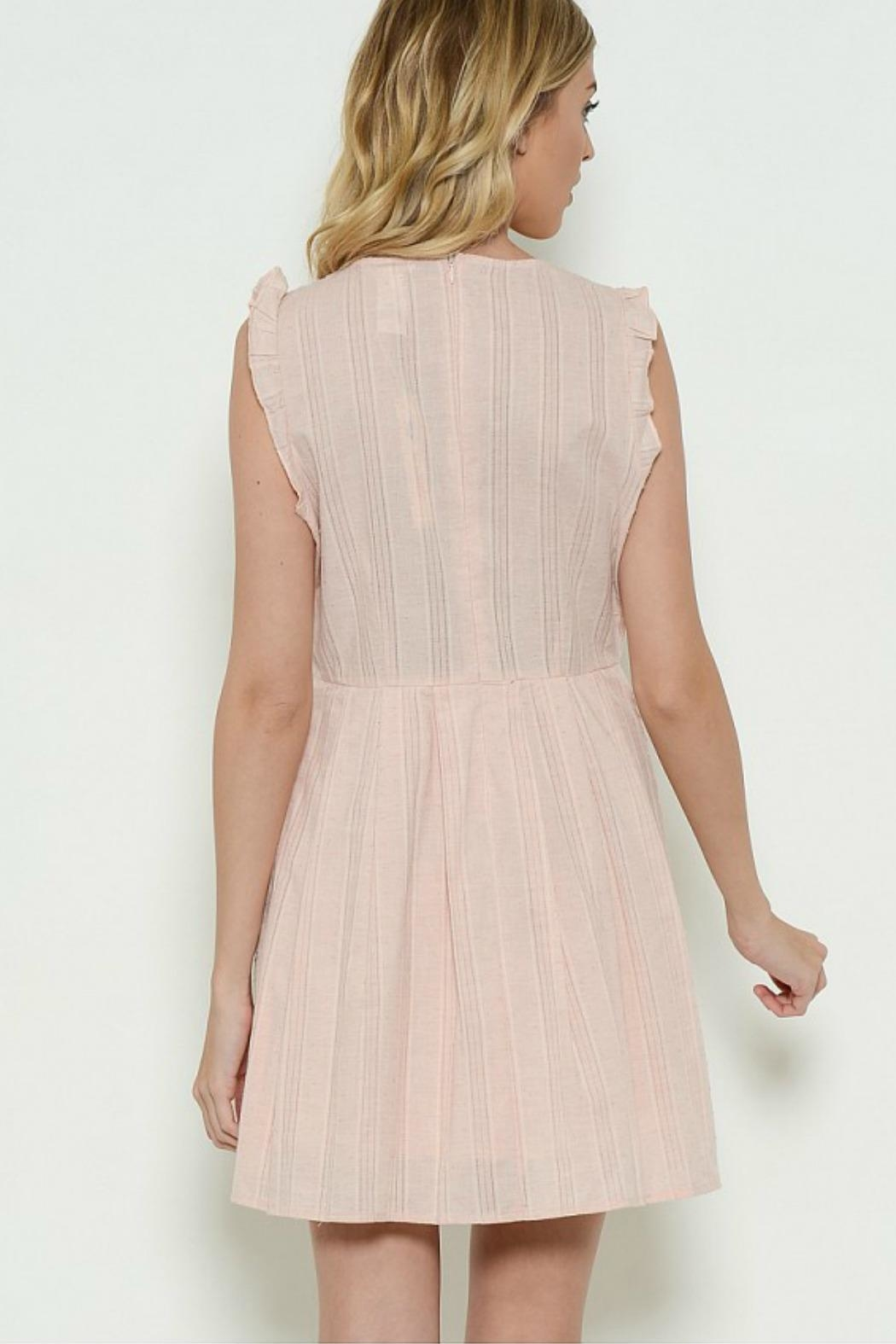 Esley Collection Spring Dress - Front Full Image