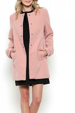 Esley Collection Red Structured Coat - Alternate List Image