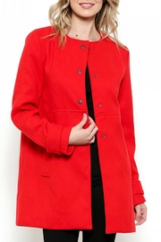 Esley Collection Structured Coat - Product Mini Image
