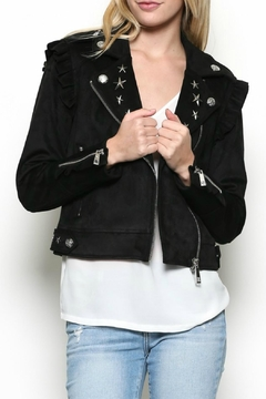 Esley Collection Starlight Moto Jacket - Product List Image