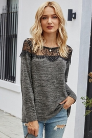 Esley Collection Sweetest Lace Shoulders - Product Mini Image