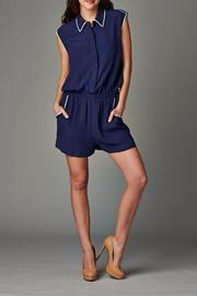 Esley Collection The Christine Romper - Product Mini Image