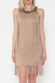 Esley Collection The Hannah Fringe Dress - Product Mini Image