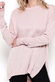 Esley Collection The Pink Sweater - Product Mini Image