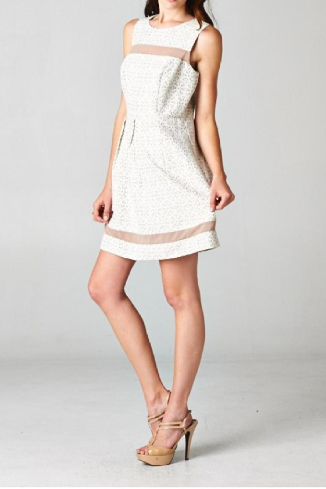Esley Collection The Rey Dress - Front Full Image