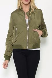 Esley Collection The Sylvie Bomber Jacket - Product Mini Image