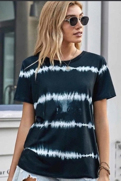 Esley Collection Tie Dye Top - Product List Image