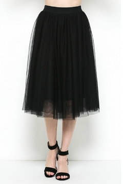 Esley Collection Tulle Midi Skirt - Product List Image