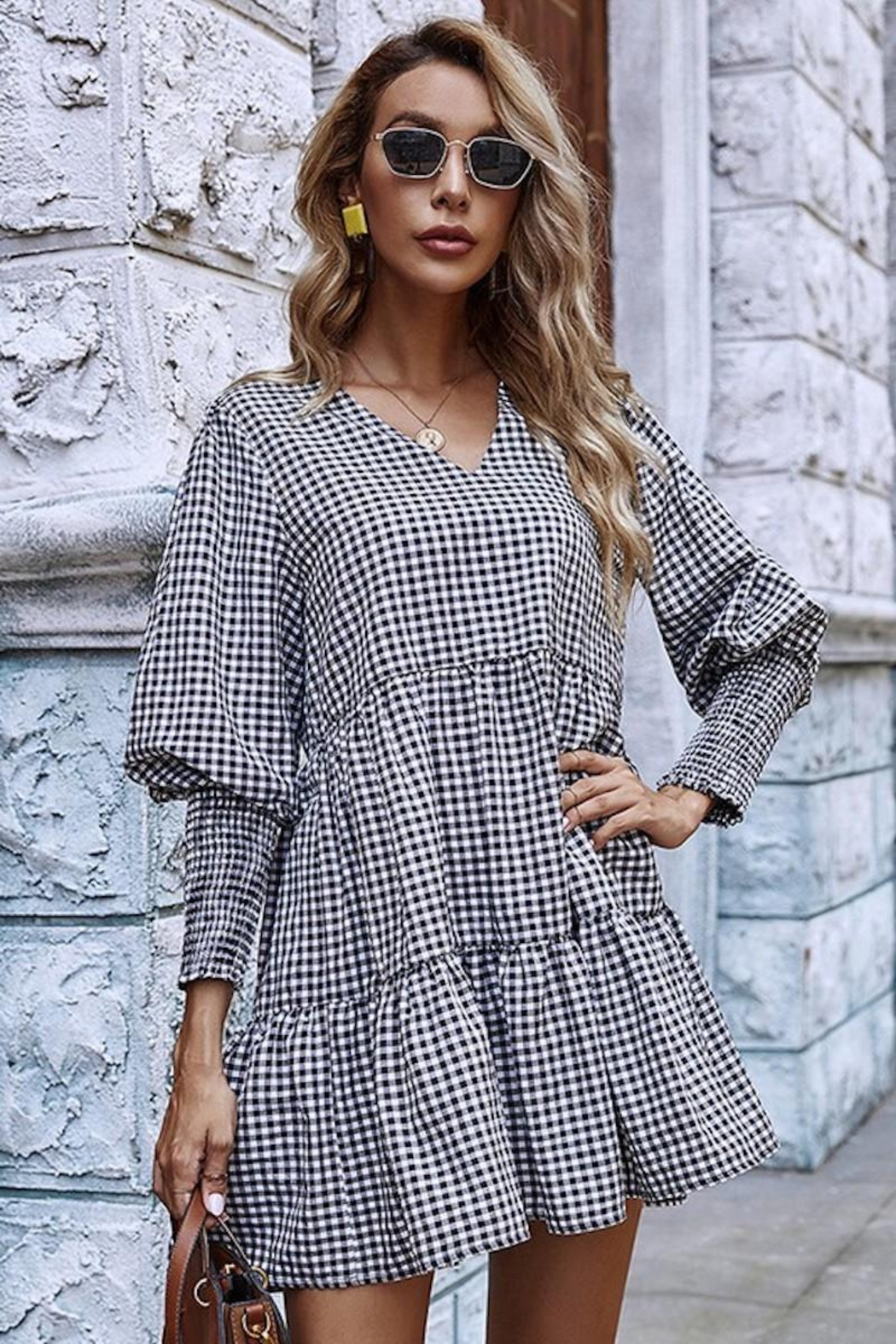 Esley Collection You Had Me At Gingham - Main Image