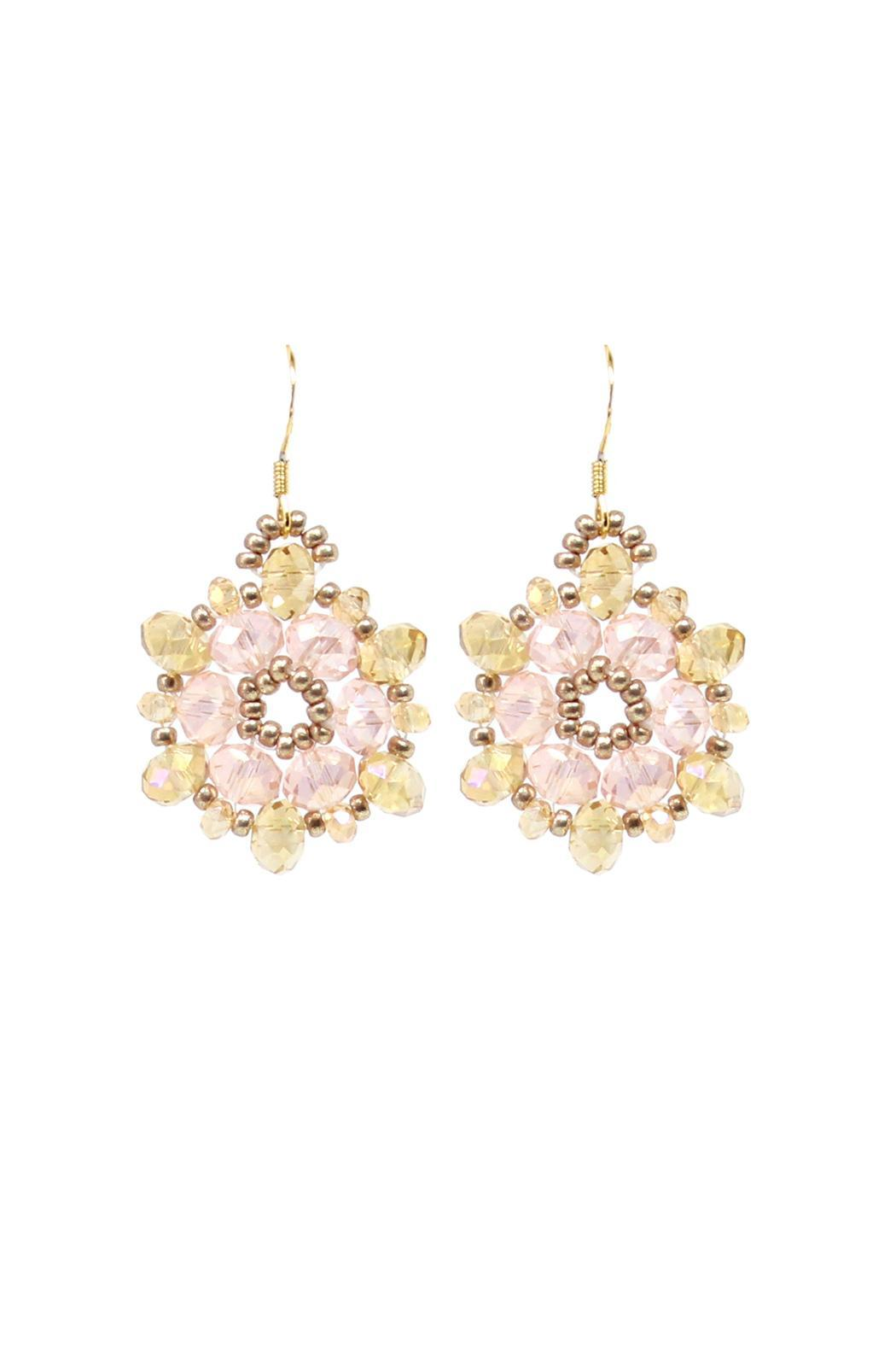 Esmeralda Lambert Pink Jasmin Earrings - Main Image