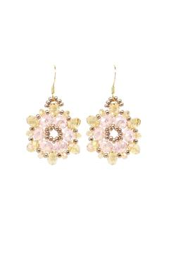 Shoptiques Product: Pink Jasmin Earrings