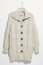 Free People Espresso Cardi - Product Mini Image