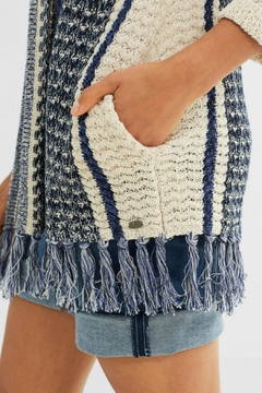 Esprit Fringed Cardigan Sweater - Alternate List Image