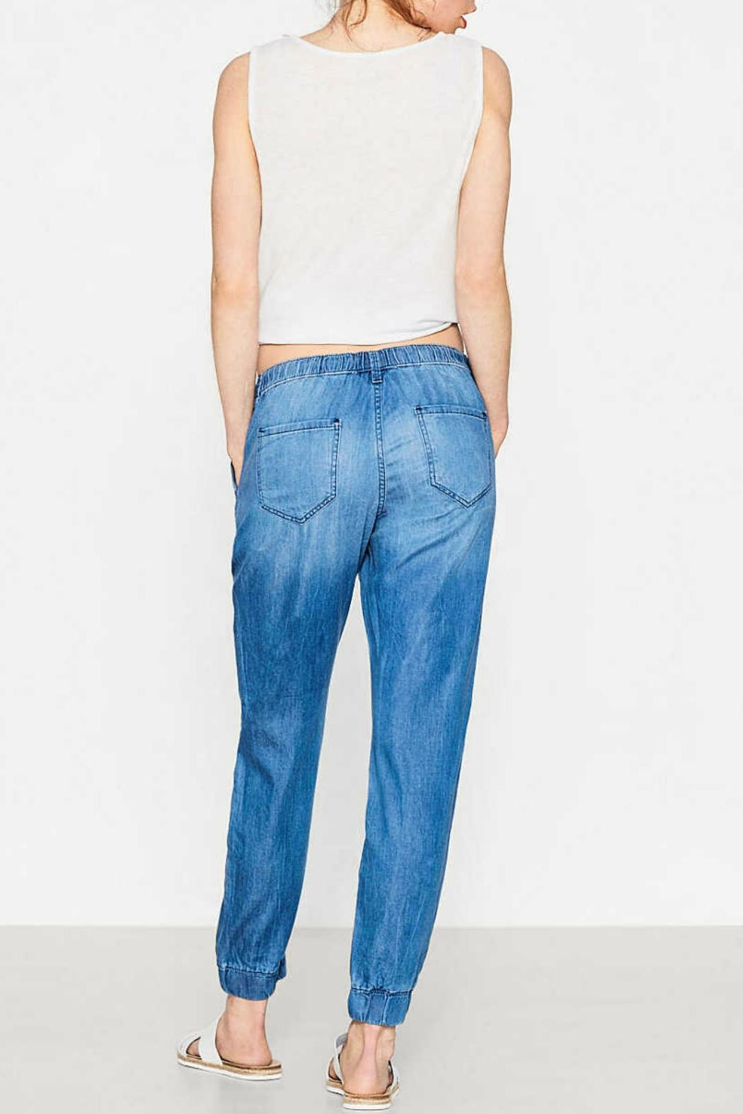 Esprit Denim Tracksuit Trousers - Side Cropped Image
