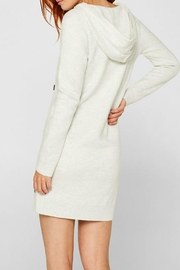 Esprit Hooded Knit Dress - Front full body