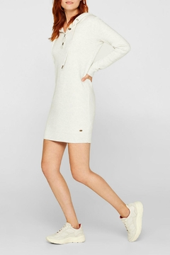 Esprit Hooded Knit Dress - Product List Image