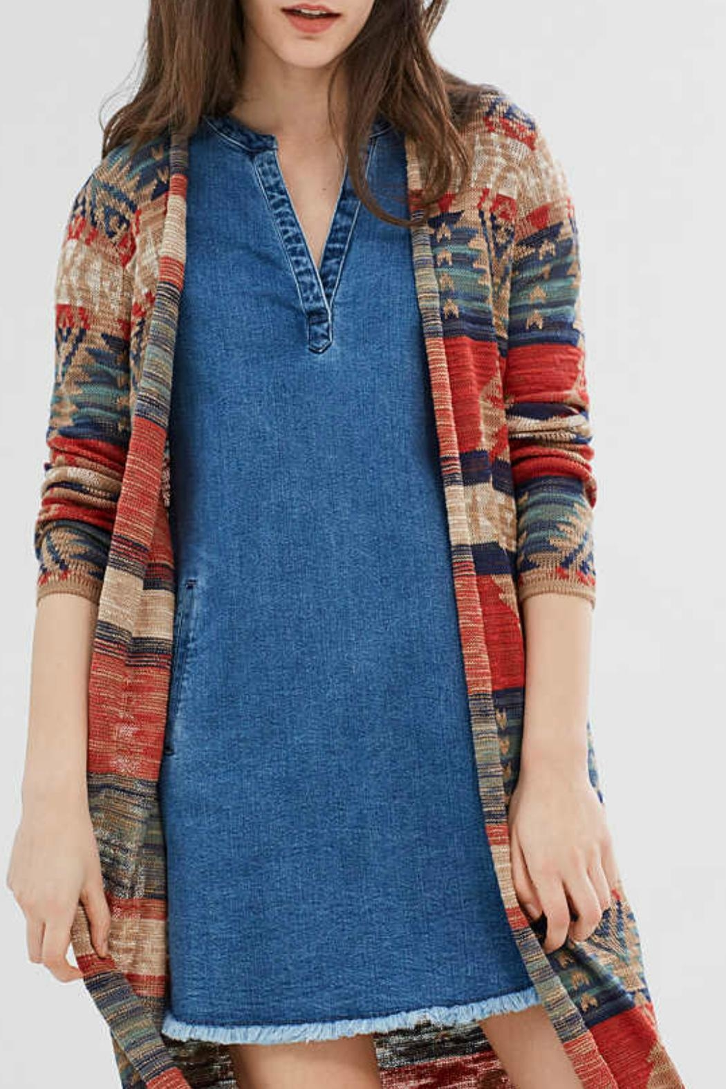 b9974e7cd Esprit Ikat Fine-Knit Cardigan from Canada by Blue Sky Fashions ...